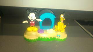 Mickey y Pluto muñecos juguete con sonido