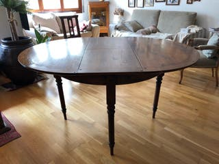 Mesa de comedor extensible en madera maciza de segunda mano por 250 ...