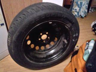 Llanta rueda coche+goma nueva