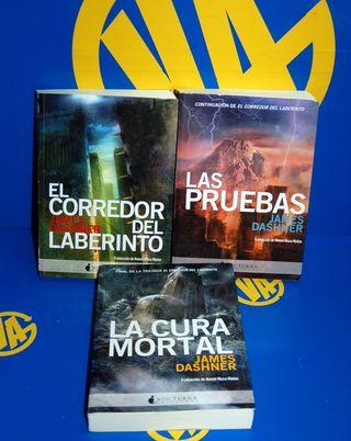 LOTE DE 3 libros EL CORREDOR DEL LABERINTO-3 TOMOS