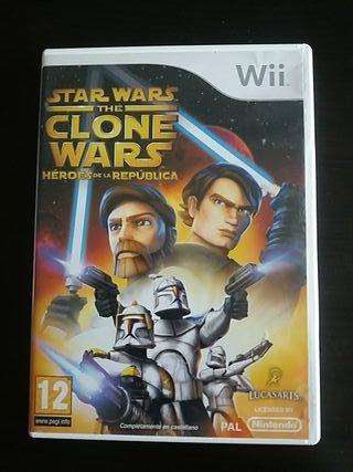 Star wars the Clone wars para WII