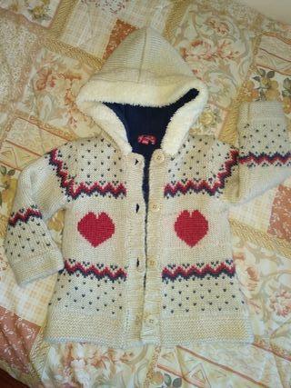 chaqueta talla 2-3 años abrigadita