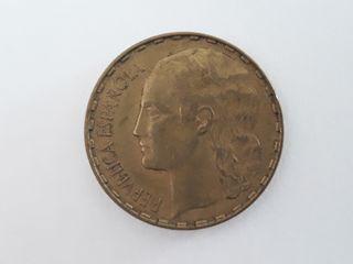 Moneda 1 peseta 1937