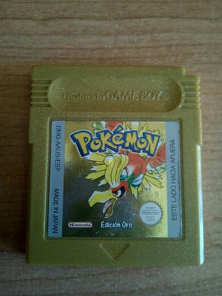 Pokemon Oro. Game Boy Color