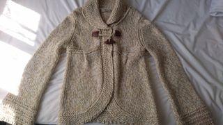 chaqueta lana zara