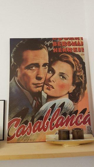 Cuadro decoración Casablanca