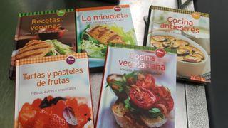 mini libros de cocina