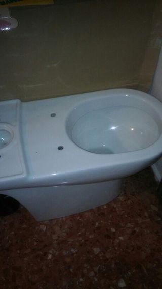 Inodoro nuevo sin cisterna