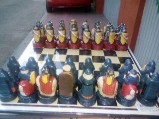 juego ajedrez medieval al por mayor