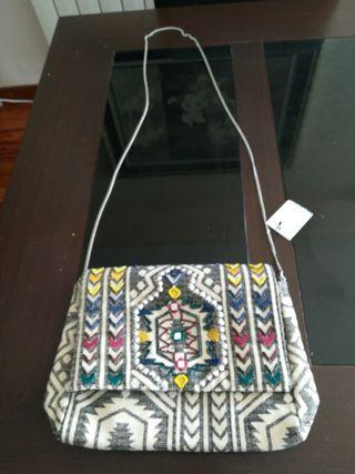 precioso bolso primavera- verancon etiqueta 2en 1
