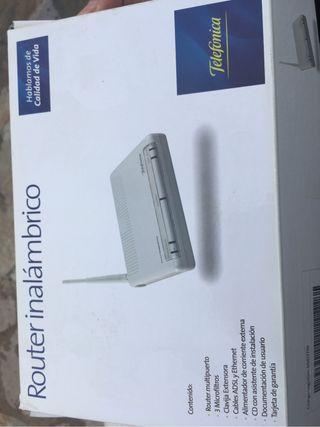 Router adsl wifi movistar