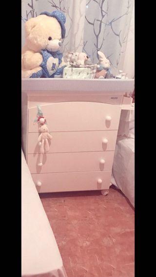 Mueble cambiador bañera