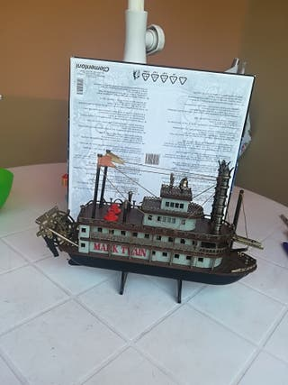 radio barco de Mark Twain