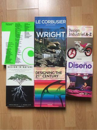 Pack libros Diseño y Arquitectura
