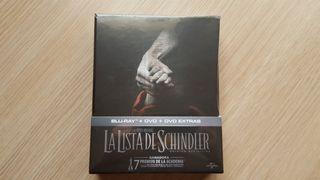 La Lista de Schindler Blu ray coleccionista