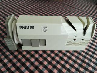 Afilador cuchillos y tijeras electrico Philips