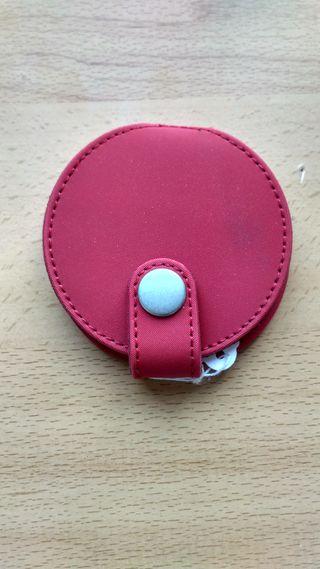 Espejo bolso aumento NUEVO rojo