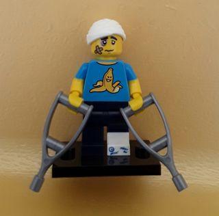 lego serie 15 minifigura chico desafortunado
