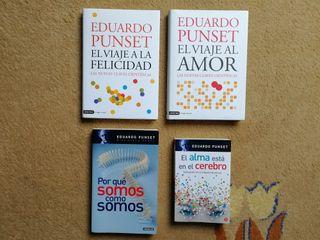 Pack de libros de Eduardo Punset