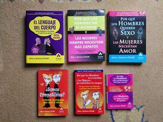 Pack de libros de Allan y Barbara Pease