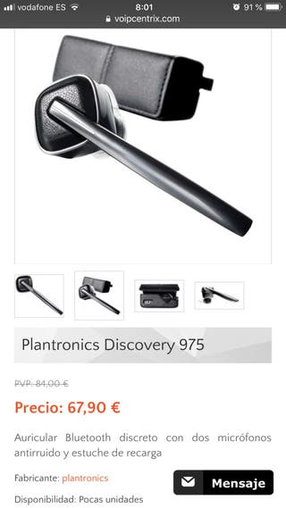 BLUETOOTH PLANTRONICS DISCOVER