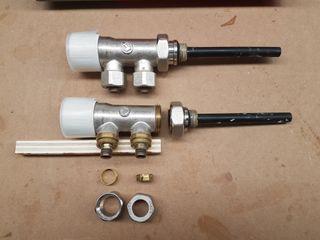 Válvulas radiador monotubo