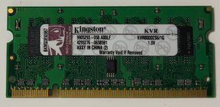 Memoria portatil 1Gb ddr2