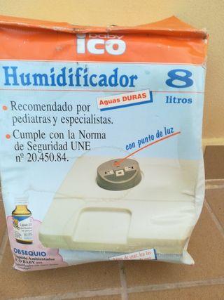 Humidificador vaporizador Ico