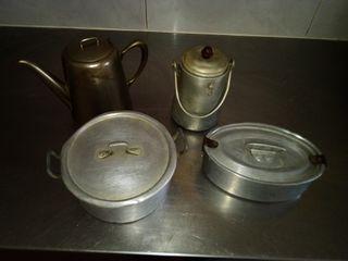 Conjunto utensilios cocina antiguos