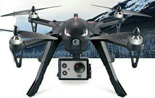 DRON MOTORES BRUSHLESS + CAMARA DEPORTIVA 1080