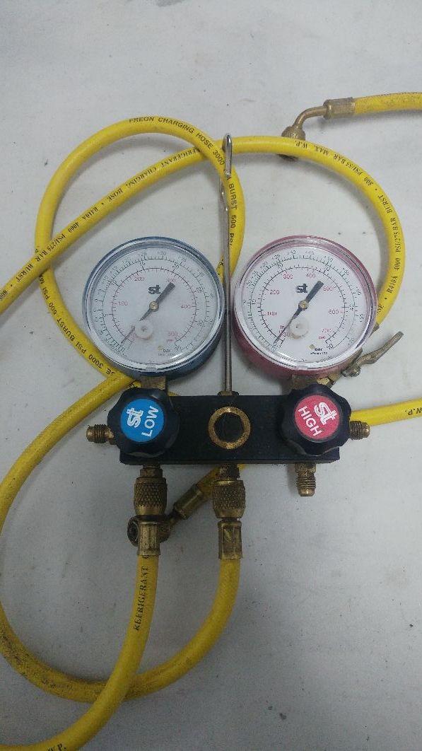 manometros aire acondicionado