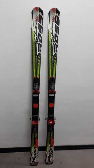 Esquís + botas rossignol