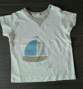 Camisetas bebé T. 3-6 meses