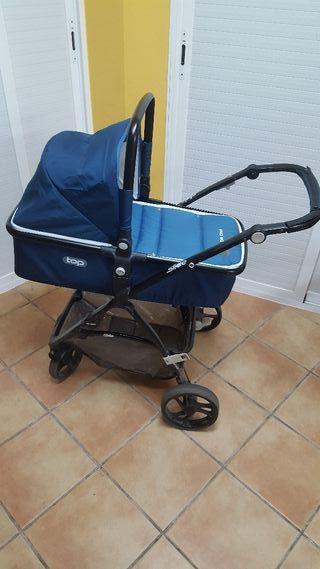 carrito bebe y trona