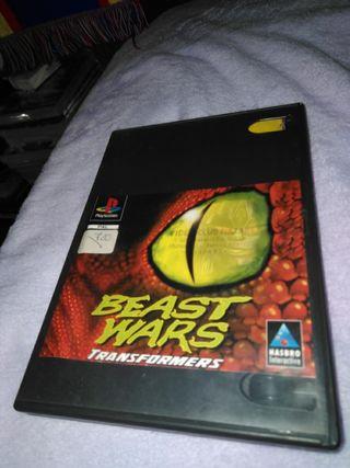 Beast Wars transformers psx/ps1