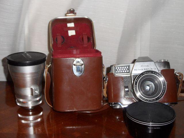 Camara vintage Kodak Reflex
