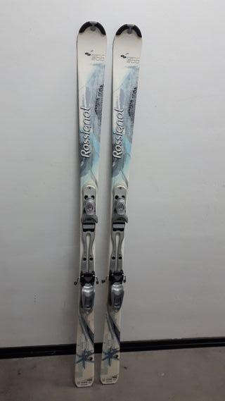 Esquís +botas rossignol