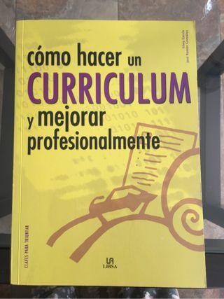 NUEVO LIBRO como hacer un curriculum y mejorar