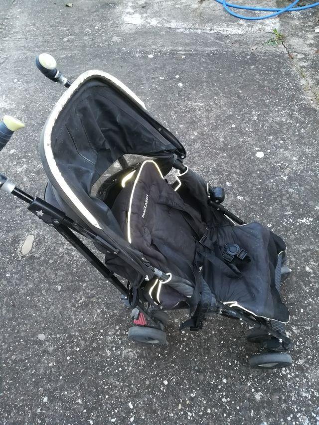 silla niño mclaren buggy negro