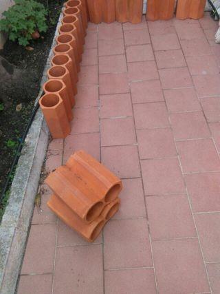 botellero de cerámica.