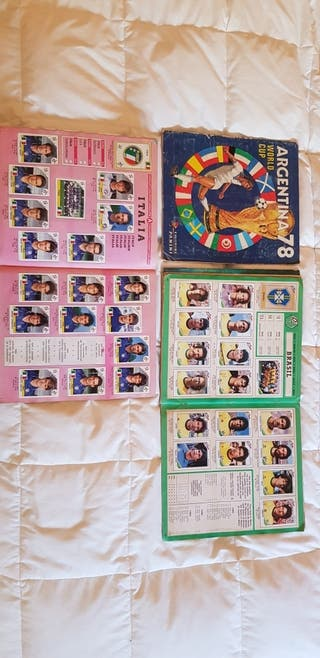 Pack albumes completos Panini World Cup