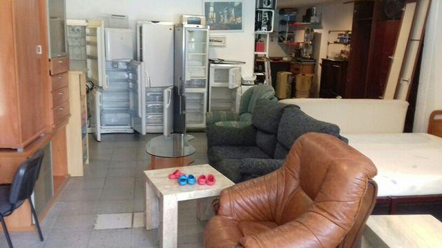 muebles y electrodomésticos de segunda mano