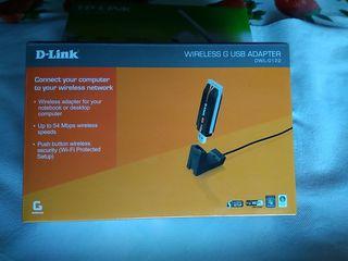 Adaptador Wifi USB d-link