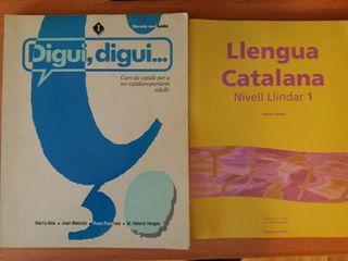 Libros Digui, digui... i Llengua Catalana Nivell 1