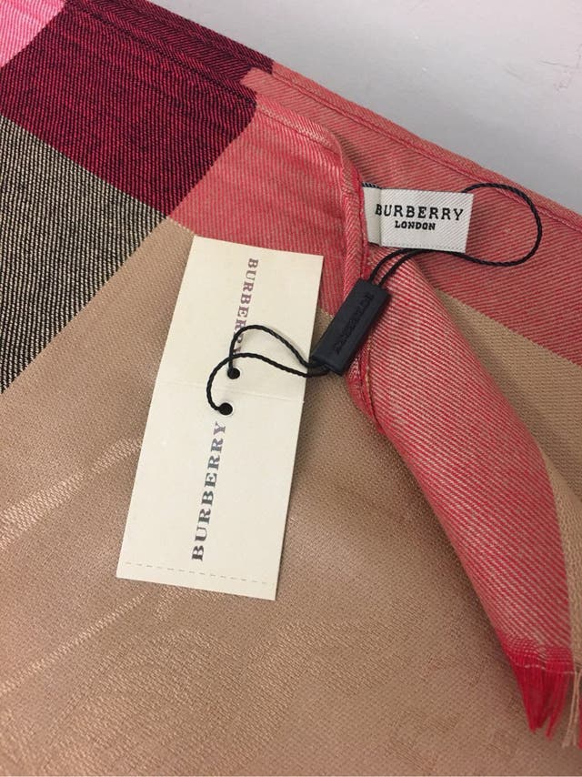 Burberry Bag and Scarf Set