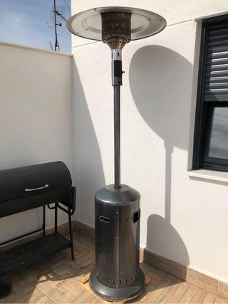Calefactor terraza champiñon