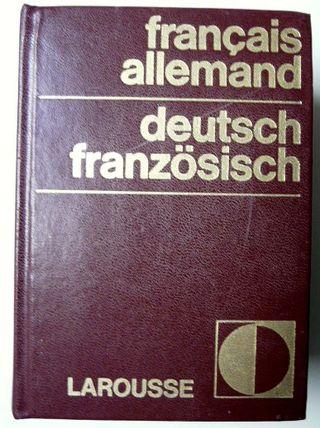 Larousse français allemanddeutsch französisch1975 d