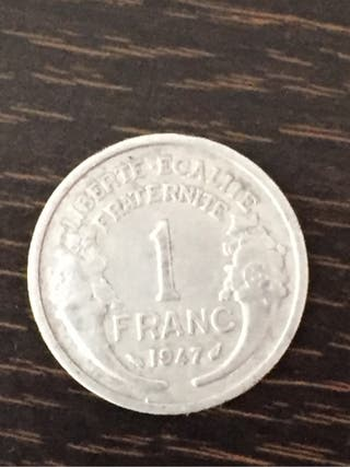 1 franco moneda