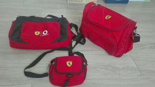 lote bolsos Ferrari
