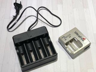 Cargador baterias 18650 o similares